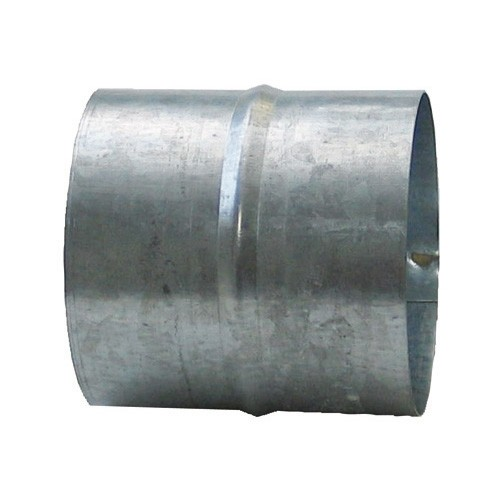 DMO Manchon de raccordement 125mm acier galvanisé