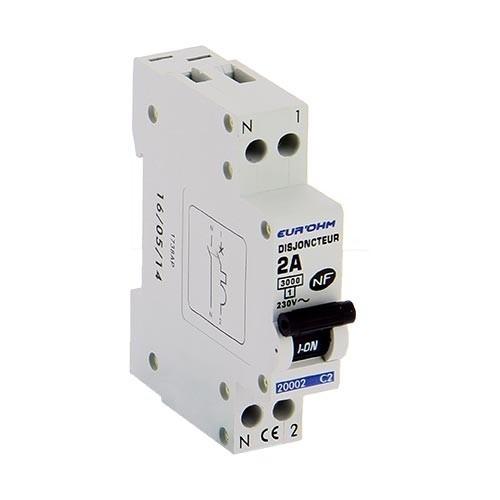EUROHM Disjoncteur  NF 2A 1P+N