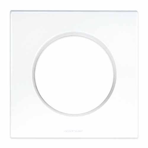 Plaque de finition blanche Eurohm