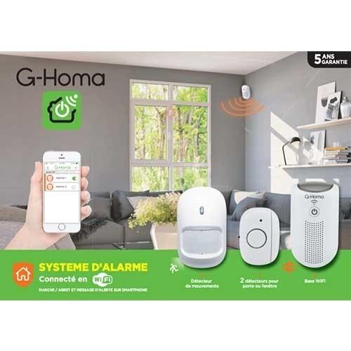 G-HOMA Alarme connecté wifi et accessoires - EMW302WF-HS