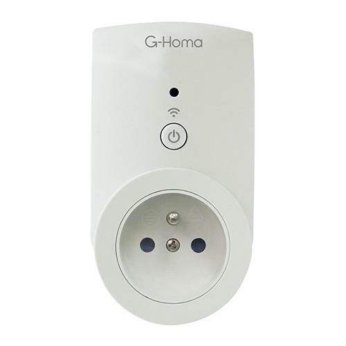 Prise connectée G-HOMA wifi 16A - EMW302WF-F