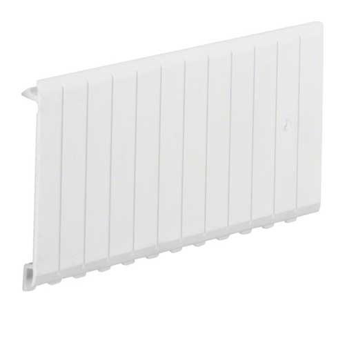 HAGER Obturateur blanc 6 modules pour coffret - JP001