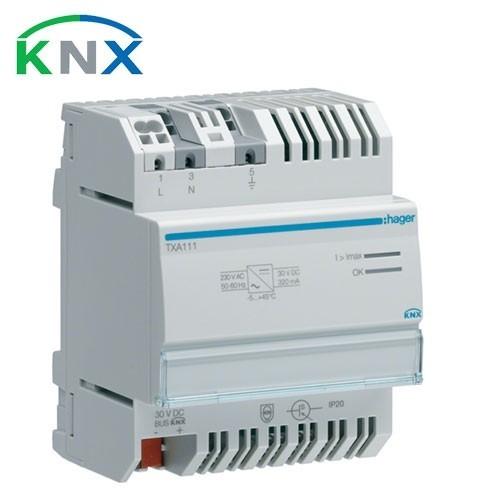 HAGER KNX Alimentation 320 MA 30V TBTS - TXA111