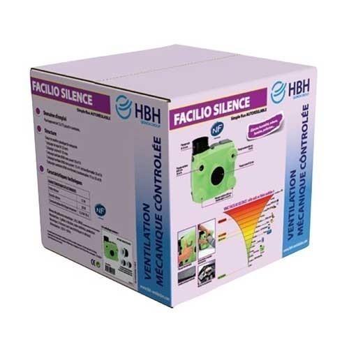HBH Kit VMC autoréglable simple flux Facilio Silence - 909965