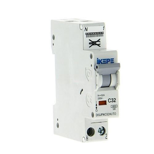 IKEPE Disjoncteur 32A auto Ph+N courbe C 4.5kA 230V