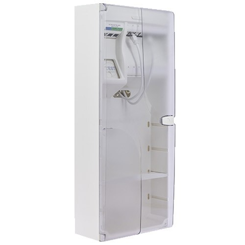 Coffret de communication IKEPE Grade 3TV - 8RJ45 avec DTIO et emplacement box