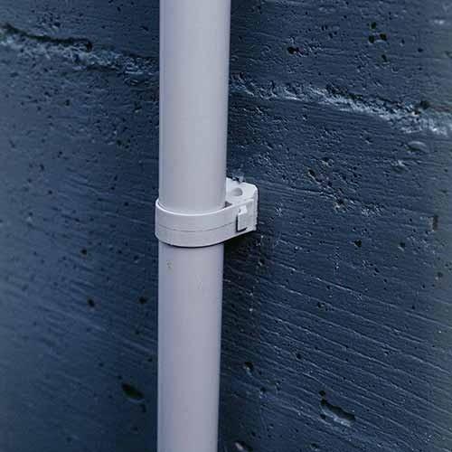 ING FIXATIONS Fix-ring+ fixation pour tube Diamètre 16 - Boîte de 100