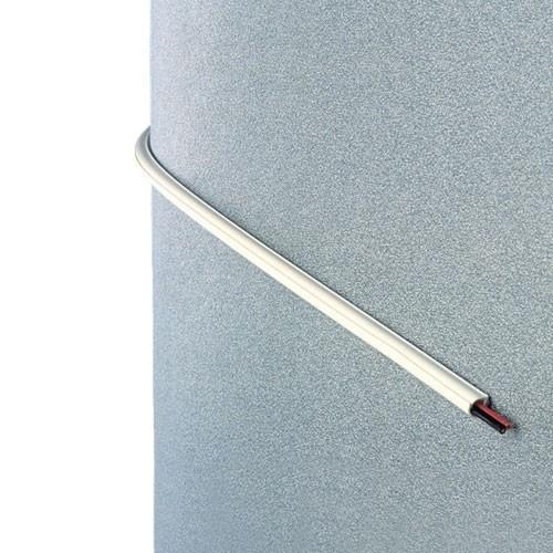 INOFIX Cablefix Gaine adhésive 5,5 x 5 mm - Blanc - 4