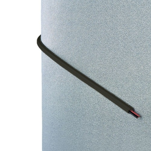 INOFIX Cablefix Gaine adhésive 8 x 7 mm - Marron - 4