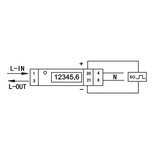 KETLER Compteur monophasé 32A à écran LCD - 2