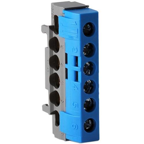 LEGRAND Drivia Bornier Neutre bleu 2x35-4x25