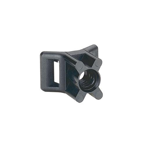 LEGRAND Colson Embase à visser avec cheville D5mm noire - 031950