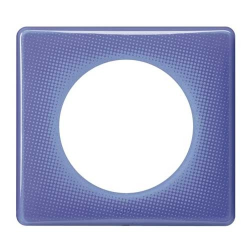 LEGRAND Céliane Plaque Memories 1 poste 90's violet - 066661