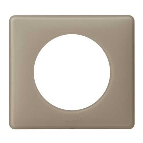 plaque poudr legrand c liane simple gr s 066721. Black Bedroom Furniture Sets. Home Design Ideas