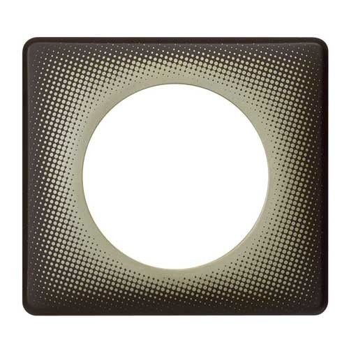 LEGRAND Céliane Plaque Poudré 1 poste Eclipse - 066740