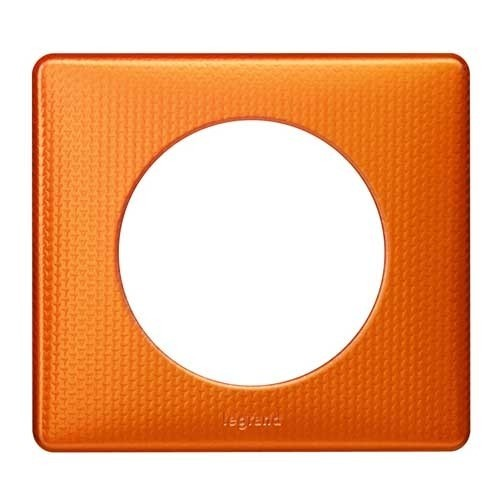 LEGRAND Céliane Plaque Métal 1 poste Orange snake - 068761