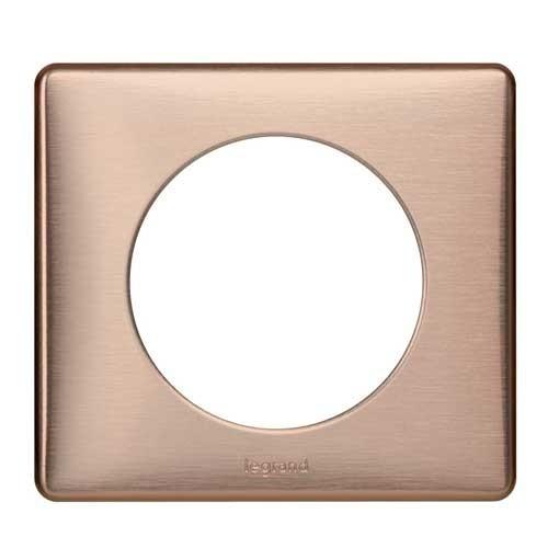 LEGRAND Céliane Plaque Métal 1 poste Copper - 068991