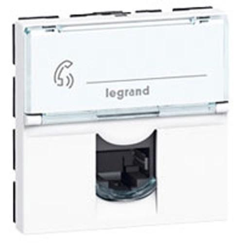 LEGRAND Mosaic Prise RJ45 CAT6 FTP
