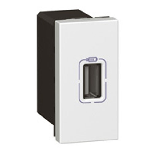 LEGRAND Mosaic Prise simple chargeur USB - 077591