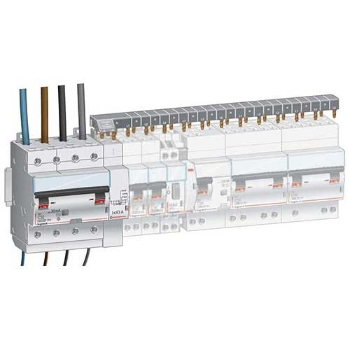 Module de raccordement LEGRAND par peigne 4P 63A - 406301