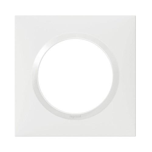 LEGRAND Dooxie Plaque simple blanc - 600801