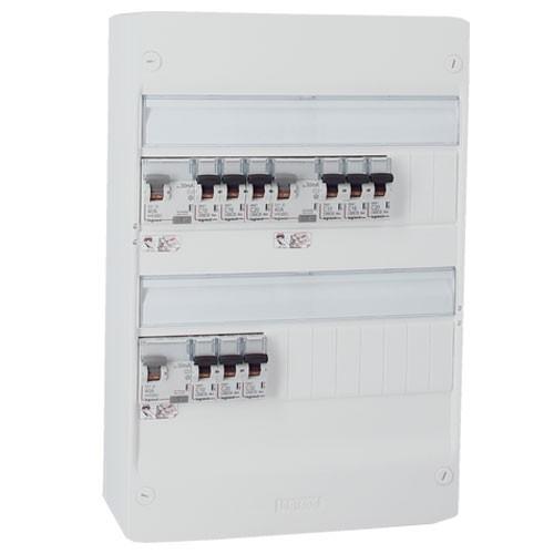 LEGRAND Drivia Tableau électrique pré-équipé auto 2 rangées 3ID 40A 9 disjoncteurs