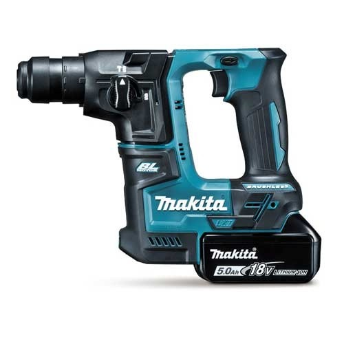marteau perforateur burineur 18v 2 batteries 5ah makita. Black Bedroom Furniture Sets. Home Design Ideas