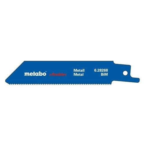 METABO Jeu de 5 lames de scie sabre pour métal 100X0,9mm - 628266000