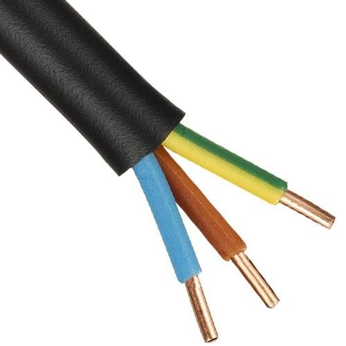 Câble électrique RO2V 3G 2.5² - Couronne de 100m - 2