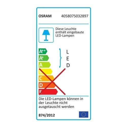 OSRAM Plafonnier LED Silara 830 230V 1100lm 16W 30cm