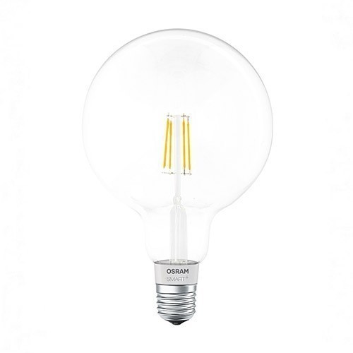 Ampoule connectée LED OSRAM Smart+ Apple Homekit E27 230V 5.5W (=60W) 650lm 2700°K globe