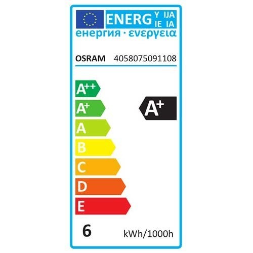 OSRAM Smart+ Apple Homekit Ampoule globe connectée LED E27 230V 5.5W (=60W) 650lm 2700°K