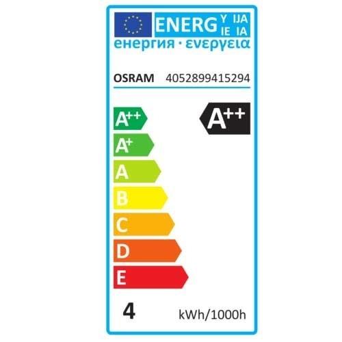 OSRAM Lot de 2 Ampoules LED filament E27 230V 470lm 4W standard - 4