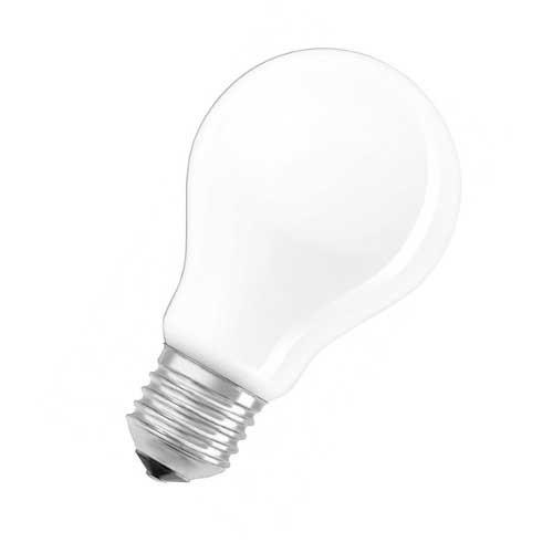 OSRAM Ampoule LED en verre dépoli dimmable standard E27 230V 8,5W 1055lm