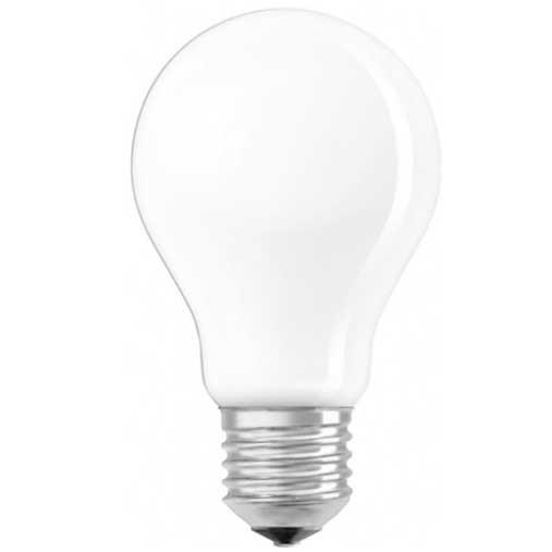 OSRAM Lot de 2 Ampoules LED en verre dépoli E27 230V 806lm 7W standard blanc froid - 2