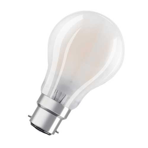 OSRAM Ampoule LED 470lm B22d 230V 4W en verre dépoli standard - 2