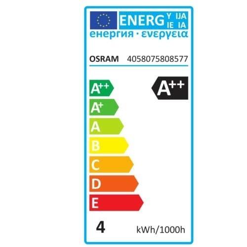 OSRAM Ampoule LED en verre dépoli 470lm B22d 230V 4W standard