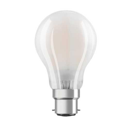 OSRAM Ampoule LED 470lm B22d 230V 4W en verre dépoli standard