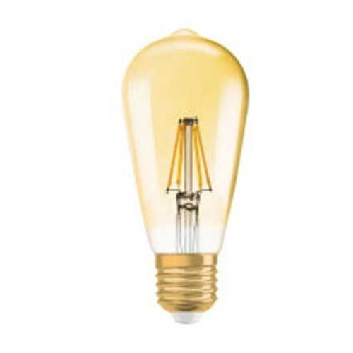OSRAM Ampoule LED filament E27 230V 2,8W 200lm édition 1906 Edison or