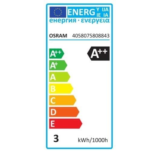 OSRAM Ampoule LED en verre dépoli E27 250lm sphérique 230V 2,8W