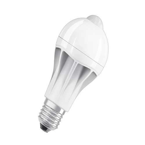 OSRAM Ampoule LED STAR+ avec détection de mouvement E27 230V 11,5W standard 1060lm