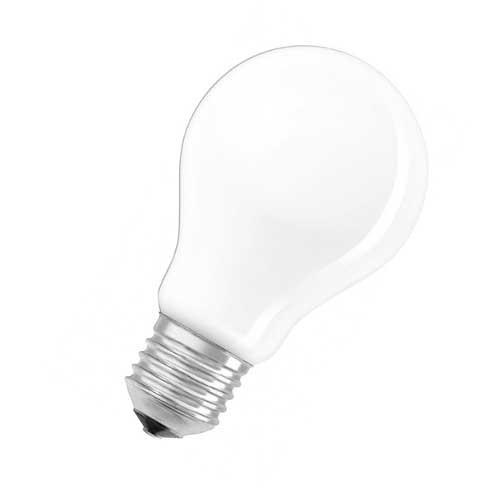 OSRAM Lot de 2 Ampoules LED en verre dépoli E27 230V 8W 1055lm standard blanc froid - 3