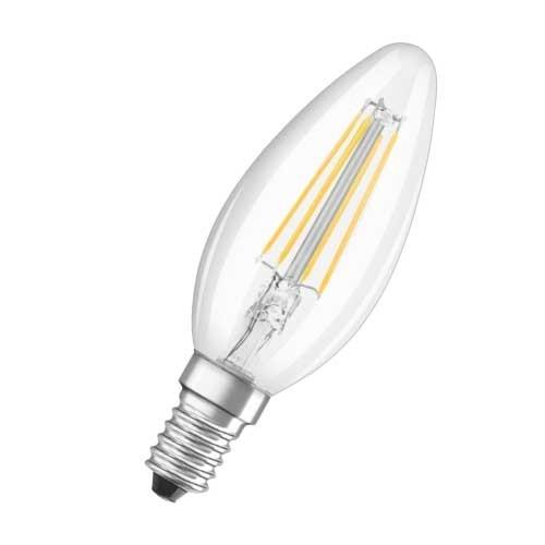OSRAM Lot de 2 Ampoules LED filament E14 230V 4W 470lm flamme - 3