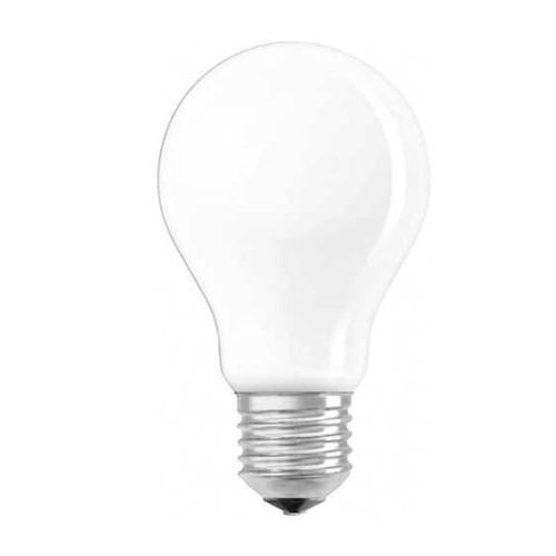OSRAM Ampoule LED dimmable standard en verre dépoli 6,5W 806lm E27 230V blanc chaud
