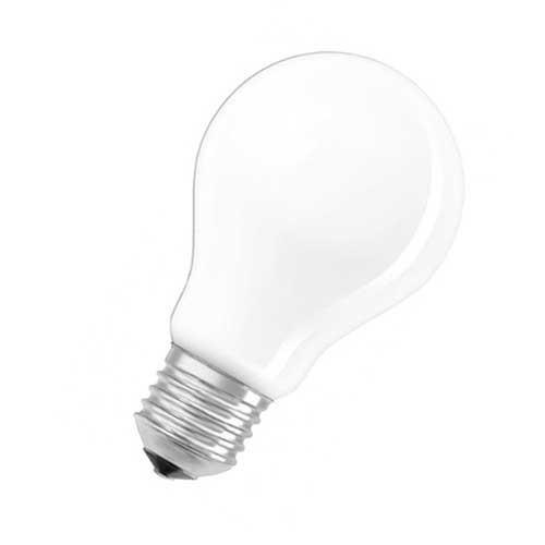 OSRAM Ampoule LED dimmable standard en verre dépoli 6,5W 806lm E27 230V blanc chaud - 2