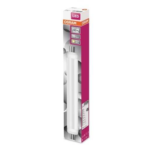 OSRAM Ampoule LED Tube linolite dépolie 806lm 9W 230V S19s - 3