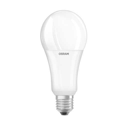 OSRAM Ampoule LED dépolie avec radiateur dimmable standard E27 230V 21W 2452lm