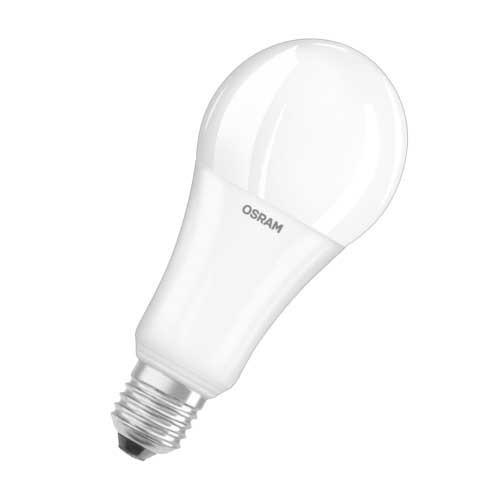 OSRAM Ampoule LED dépolie avec radiateur dimmable standard E27 230V 21W 2452lm - 2