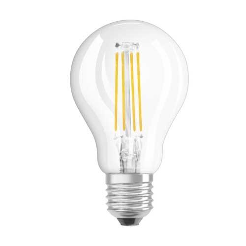 OSRAM Ampoule LED filament E27 230V 4W 470lm sphérique