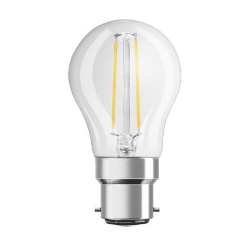 OSRAM Ampoule LED filament sphérique 2,8W 230V 250lm B22d
